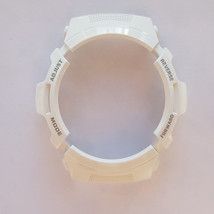Casio Genuine Factory Replacement G Shock Bezel AWG-M100GW-7A Glossy White - $30.60