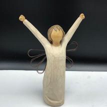 WILLOW TREE ANGEL OF COURAGE demdaco 2004 susan lordi figurine statue sc... - $21.78