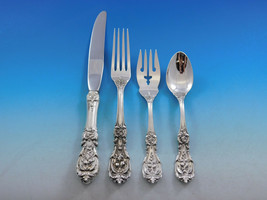 Francis I Reed & Barton Sterling Silver Flatware Service For 8 Set 32 Pi... - $1,975.05