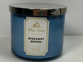 White Barn Bergamot Waters 3 Wick Candle 14.5 oz New Bath & Body Works - $14.84