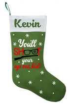 A Christmas Story Christmas Stocking, Personalized Christmas Story Stocking - $29.99