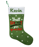 A Christmas Story Christmas Stocking, Personalized Christmas Story Stocking - $28.49+
