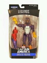 Capitán América Guerra Civil Marvel Leyenda Fuerzas de Evil Cottonmouth ... - $34.59