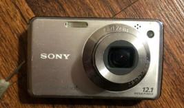 Sony Cyber-shot DSC-W220 12.1MP Digital Camera - $22.77