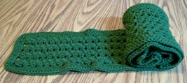 Handmade, Crochet Straight Scarf, Fashion Scarf, Accessories, Women, Lon... - $40.00