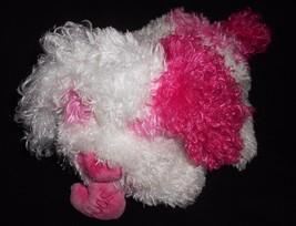 Ty Classic Crush Puppy Dog 2005 Plush Stuffed Animal White Pink Heart Hugs  - $12.75