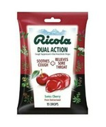 Ricola Dual Action Throat Drops Swiss Cherry 2 Packages of 19 Count EXPI... - $11.29