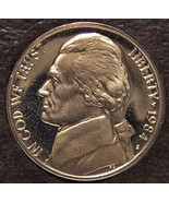 1984-S DCAM Proof Jefferson Nickel PF65 #0243 - $3.99