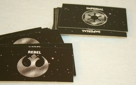Monopoly Star Wars 96 Ltd Collectors Ed Replace Title Deeds Rebel Imperi... - $19.95
