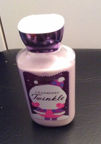 Primary image for Bath & Body Works Cranberry Twinkle HTF Body Lotion 8 oz. HOLIDAY TRADITIONS!