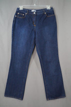 Isaac Mizrahi For Target Dark Denim Denim Jeans Size 10 - $9.95