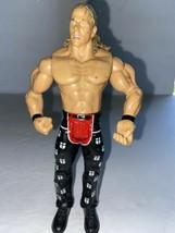 Hbk Shawn Michaels Jakks 2003 Wwe Wrestling Figure Black/Red Pants Chest Hair - $11.88