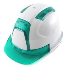 TOYO helmet No.390F-OTGG high-performance helmet Venti white / green F/S - $69.80