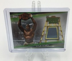 Titus O'Neil 2019 Topps Money In The Bank Relic Card /199 - $1.97
