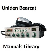Uniden Bearcat Service and Instruction Manual Library CDROM - $9.99