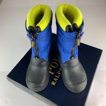 Polo Ralph Lauren Snow Boots Toddler Boy Girl Size 9 - £23.24 GBP