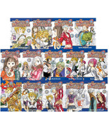 The Seven Deadly Sins Manga Book Series By Nakaba Suzuki Volumes 1-14 Brand NEW - $110.99