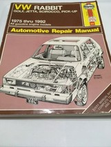 VW Rabbit, Golf, Jetta, Scirocco, Pick-up 75-92 Repair Manual Haynes 960... - $21.75