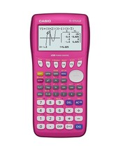 Casio fx-9750GII Graphing Calculator, Pink - $49.45