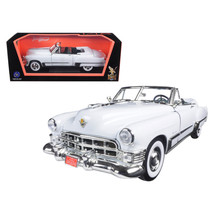 1949 Cadillac Coupe De Ville Convertible White 1/18 Diecast Model Car by Road Si - $54.41