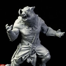 Warhog - Warrior - Ancient - 3D - Printed HQ - Resin Miniature - Unpainted - Dun - $14.99