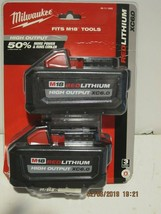 Milwaukee 48-11-1862 M18 Red Lithium High Output Xc 6 Ah Lithium-Ion Battery 2-P - $179.00