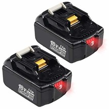 2PACKS 6.0Ah BL1860B Replacement Battery for Makita 18V Battery Lithium - $113.37