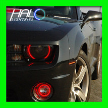 2010-2013 Oracle Chevy Camaro (NON-RS) Red Led Headlight+Fog Light Halo Rings - $254.99