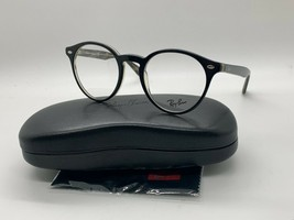 Ray-ban rb 5376 5912 black eyeglasses frame small 49-21-145mm - $77.31