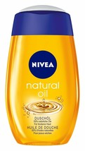 Nivea Natural Oil Shower Gel -MADE In Germany -200ml-FREE Shipping - $14.70