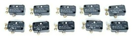 LOT OF 10 NEW HONEYWELL MICRO SWITCH V3-5000 SNAP SWITCHES 10A 125/250VAC 1/3HP