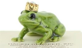 Birthstone Frog Prince October Simulated Opal Miniatures by Hagen-Renaker image 7