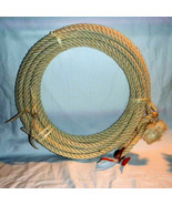 40 Ft Western Rodeo Rope Lasso - Lariat Riata Agave Maguey Straw From Me... - $54.50