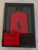 New Polo Ralph Lauren Red Men's Cologne Eau de Toilette 6.7 oz + Desk Tray - $81.17