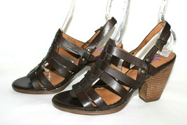 ✿ INDIGO by Clarks Woven Strappy Slingback Heeled Sandals 8 M EXCELLENT! L@@K!26 image 2