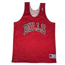 Chicago Bulls Men's Large Champion Reversible Basketball Practice Jersey... - $93.49