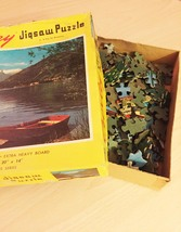 """Vintage 50s Milton Bradley Croxley Jigsaw Puzzle- #4611 """"A Day for Dreaming""""  image 5"""