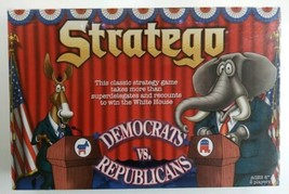 Stratego - Democrats vs. Republicans Strategy Board Game USAopoly New Sealed - $39.48