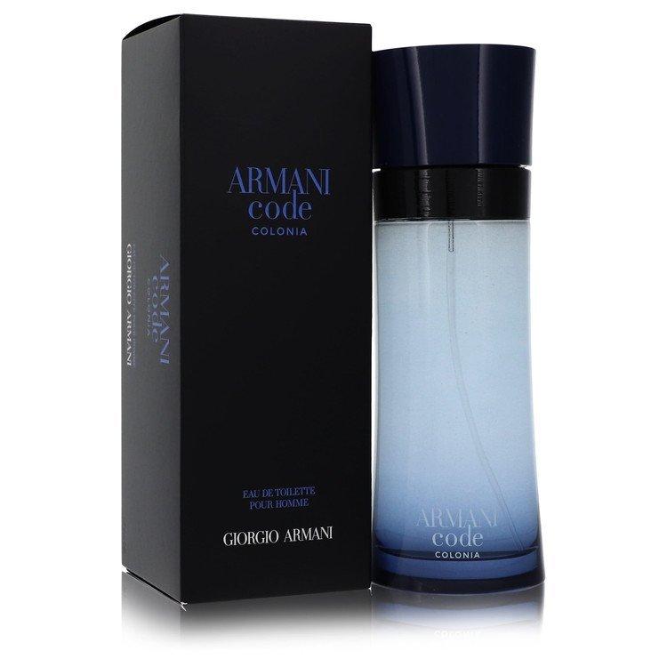 Armani Code Colonia by Giorgio Armani Eau De Toilette Spray 6.7 oz for Men - $98.28