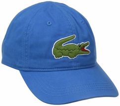 Lacoste Men's Classic Gabardine Premium Cotton Big Croc Logo Adjustable Hat Cap image 12