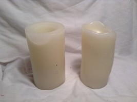 Cream Colored Flameless Battery Operated Candle Set
