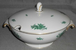 ROSENTHAL Bahnhof Selb AIDA PATTERN - GREEN FLORALS Tureen w/Lid GERMANY - $197.99