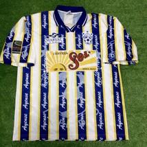 Mens Marval Ayense La Piedad Away Football Camisa Trikot Maillot Soccer Jersey - $35.63