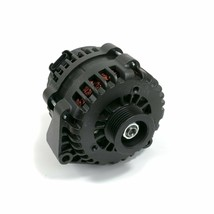 A-Team Performance GM AD244 Style High Output 220 Amp Alternator Black 4 Pin LS