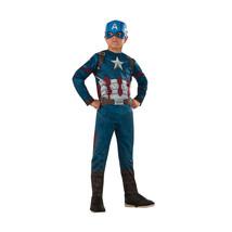 Nuovo Rubie's Marvel Captain America Bambino Varie Taglie - $17.85