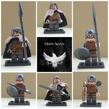 6pcs Game Of Thrones House Stark Ned Stark and Winterfell Soldiers Minifigures - $14.99