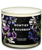 Bath & Body Works Bowties & Bourbon Three Wick.14.5 Ounces Scented Candle - $22.49