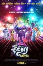"My Little Pony The Movie Poster Animated Art Film Print Size 14x21"" 24x36"" 27x40 - $10.90+"
