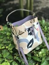 NWT Kate Spade WKRU5864 small bucket Eva Breezy Floral purse handbag - $128.69