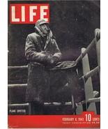 ORIGINAL Vintage Life Magazine February 8 1943 Plane Spotter - $27.86